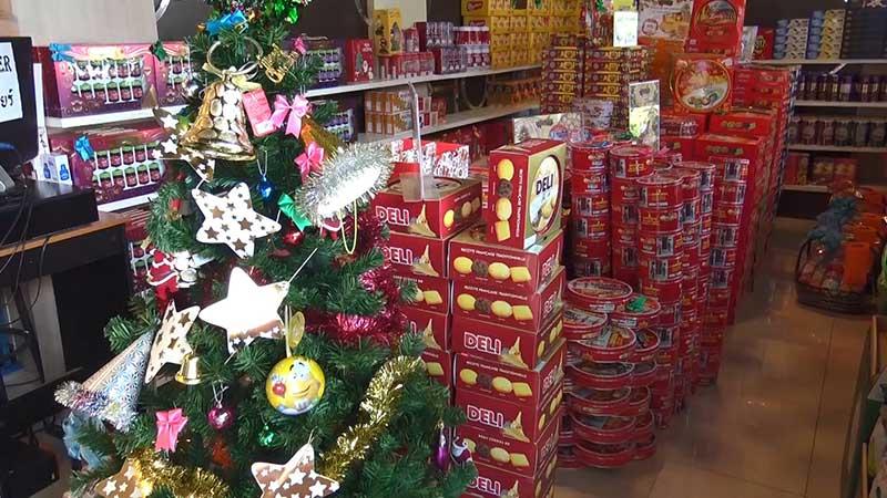 ร้านค้าในวันปีใหม่