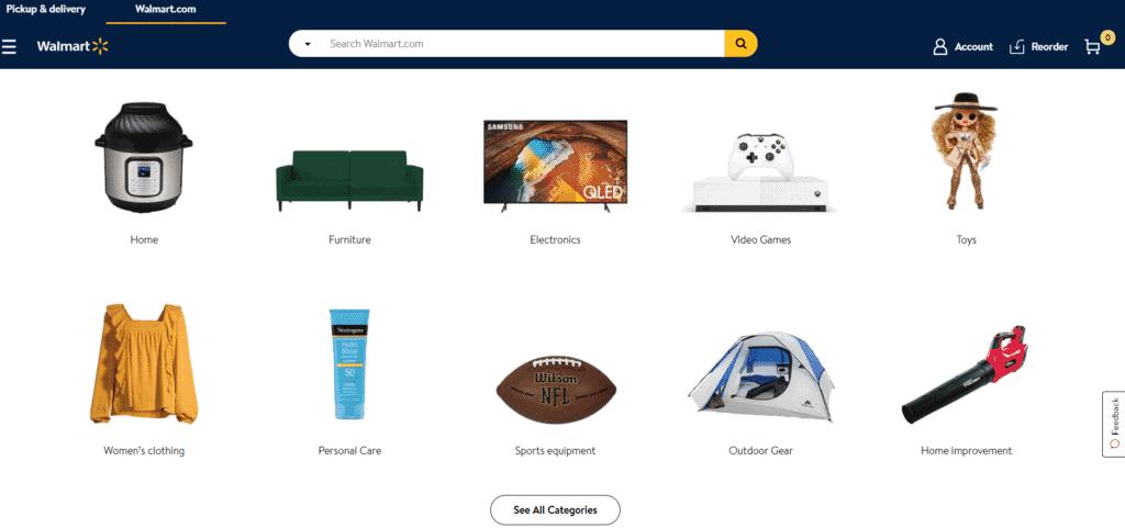 เว็บไซต์ walmart.com