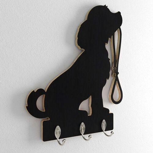 ป้ายห้อยสุนัขสีดำตกแต่งร้าน Pet Shop