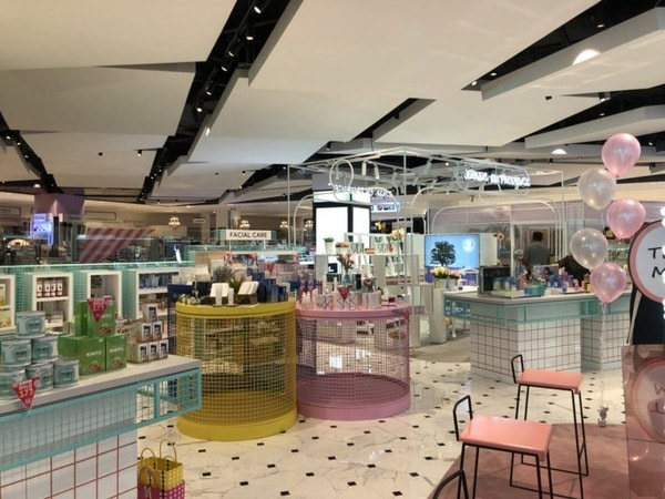 Beauty Playground cosmetic shop