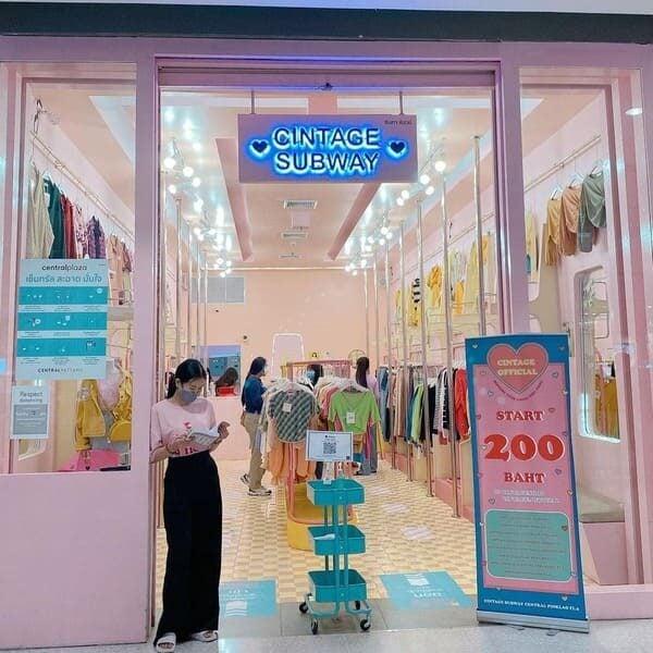 ตัวอย่างร้านเสื้อผ้าแฟชั่นที่ใช้การบริหารร้านค้าปลีกยุคใหม่