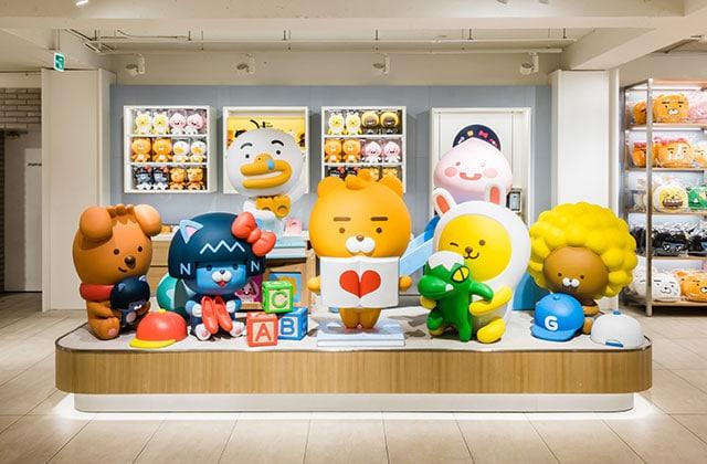 Mascot kakao friend Storefront