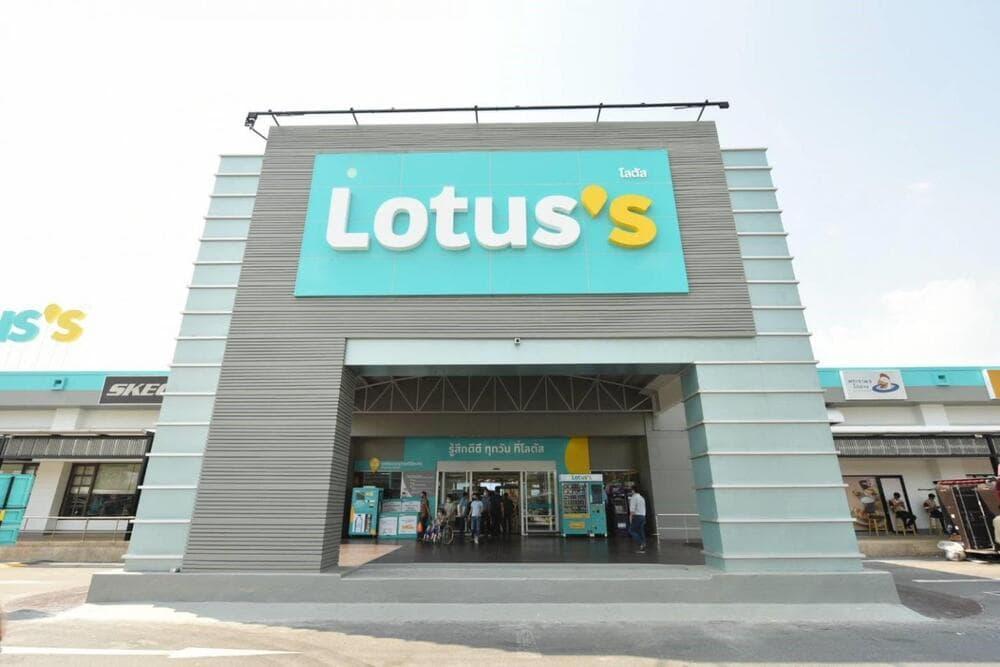 New rebranding Lotus hypermarket