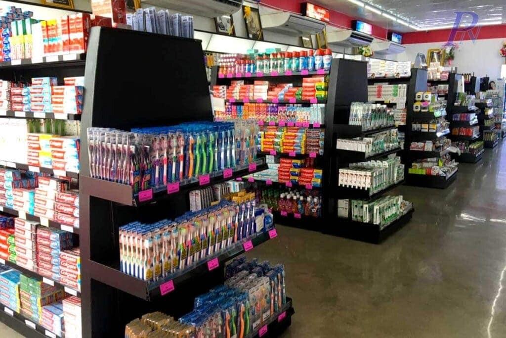 PN super shop shelf with datastrip