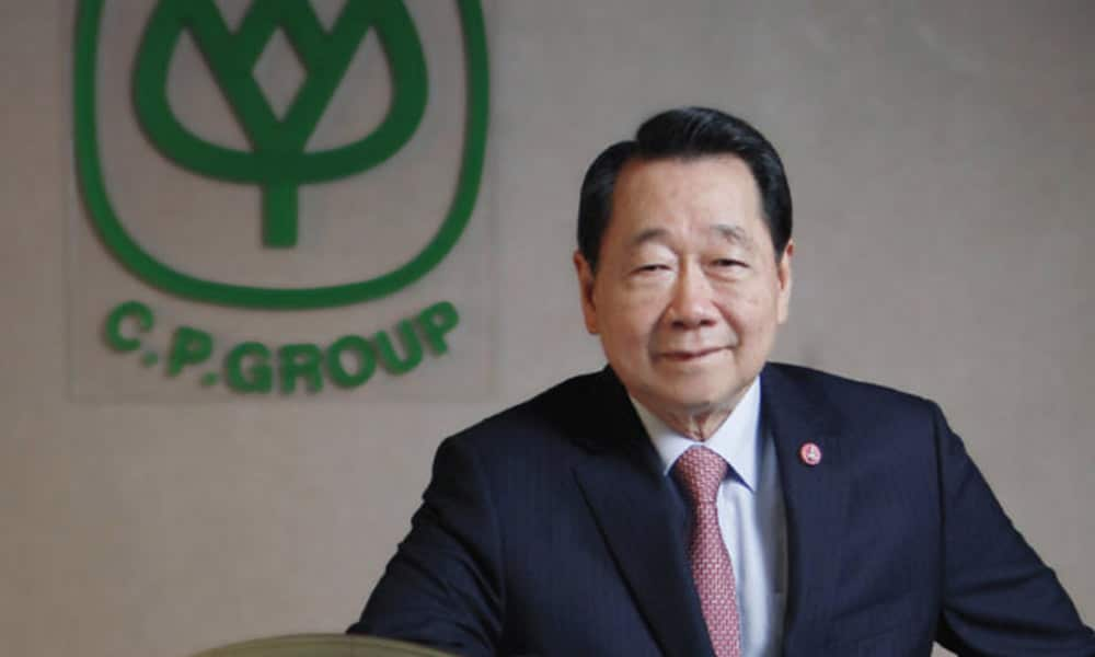 ธนินท์ เจียรวนนท์ ซีอีโอซีพีกรุ้ป นักธุรกิจที่ประสบความสำเร็จในไทย