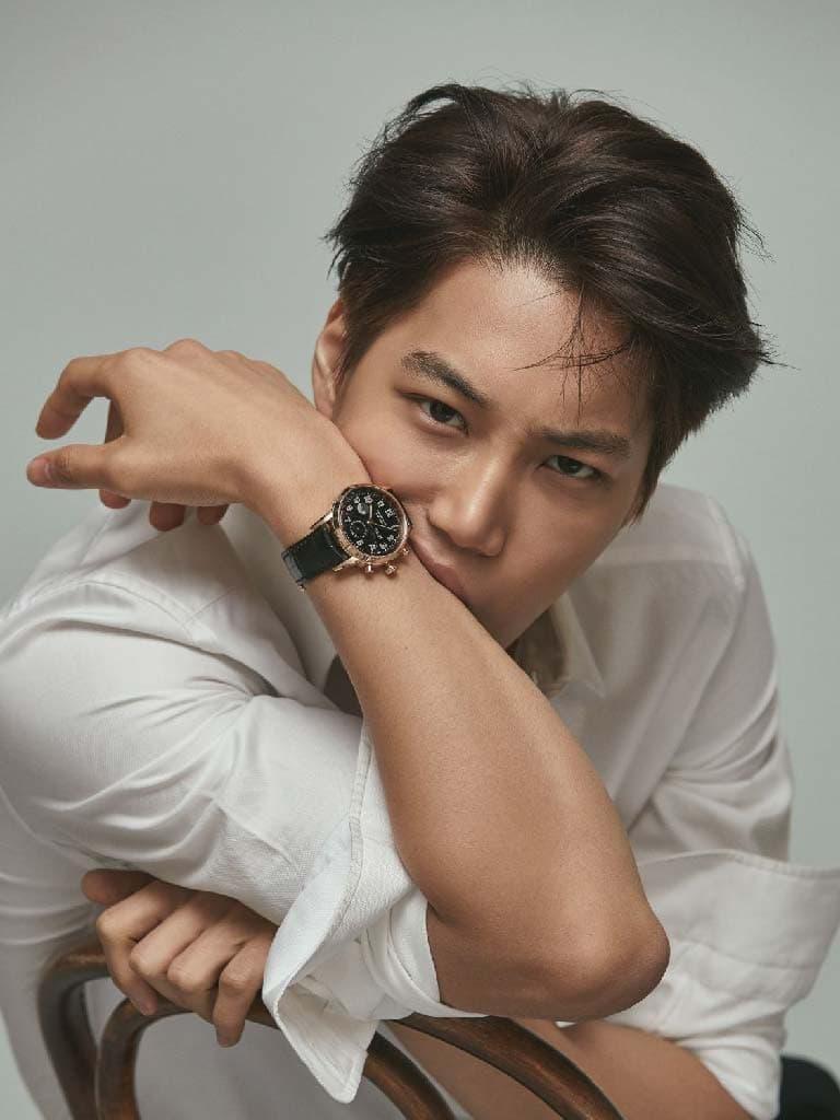 ไค EXO กับนาฬิกาแบรนด์ Tiffany & Co.