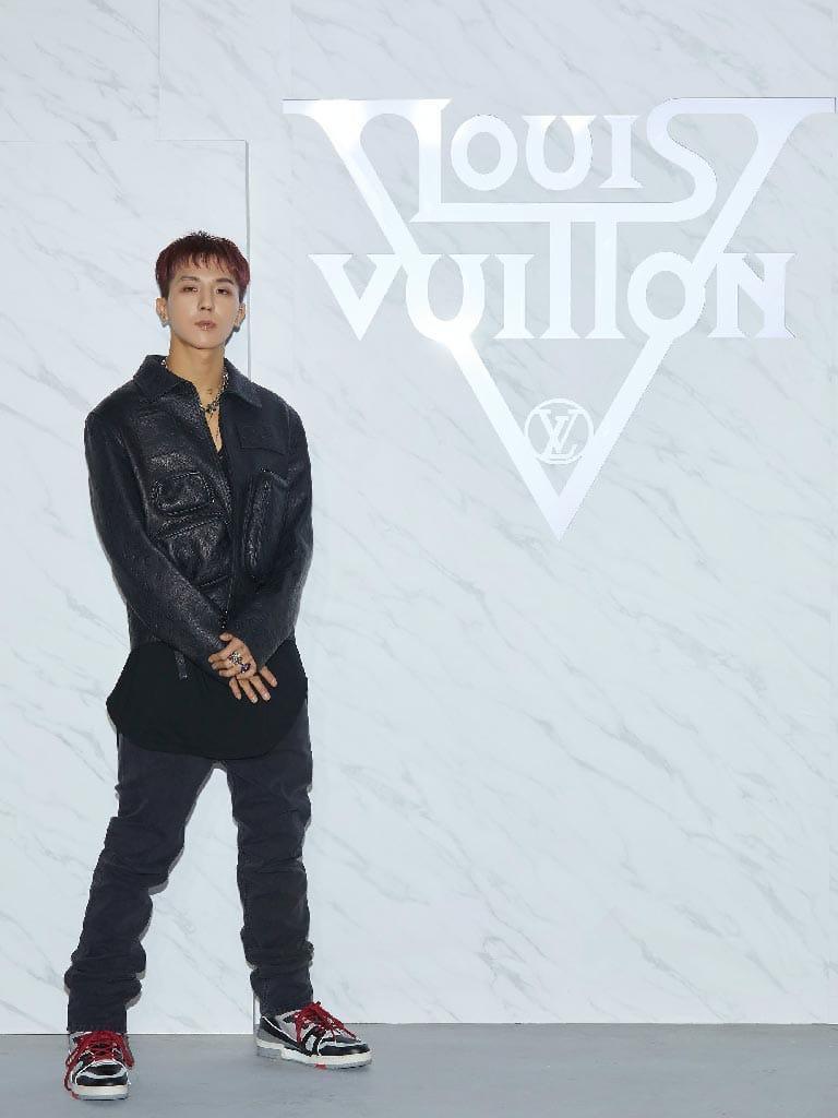 มิโน Winner กับแบรนด์ Louis Vuitton