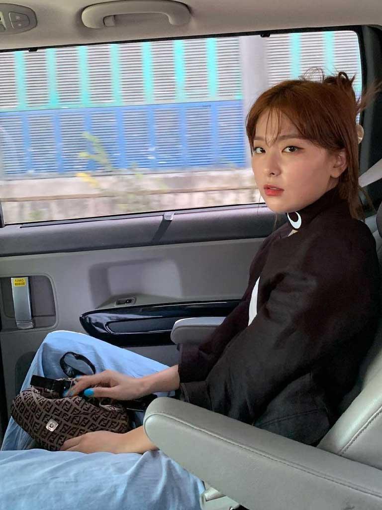 ซึลกิ Red Velvet กับแบรนด์ Fendi
