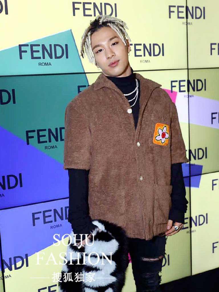 แทยัง BigBang กับแบรนด์ Fendi