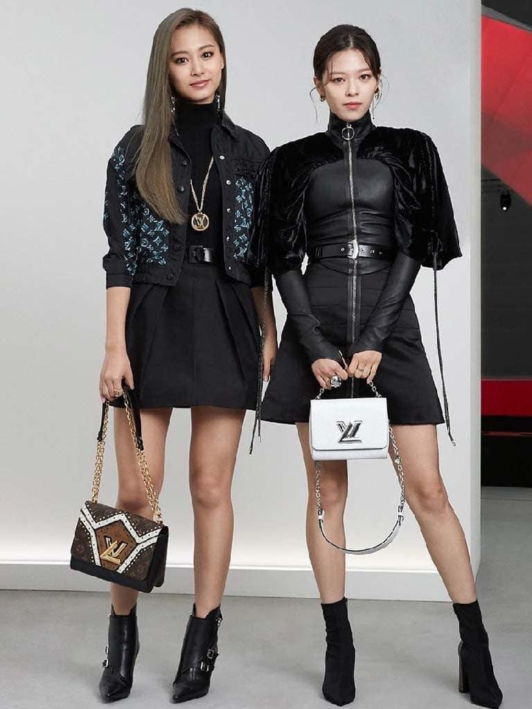 จื่อวี-จองยอน Twice กับแบรนด์ Louis Vuitton