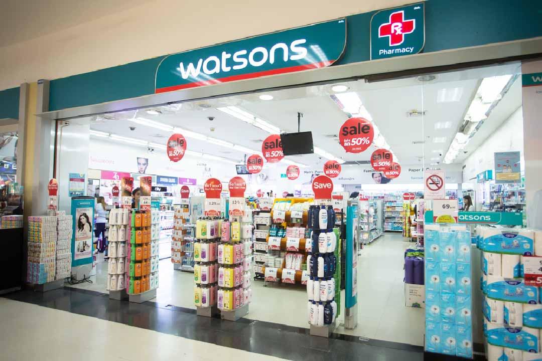 วัตสัน ตัวอย่าง Specialty Store